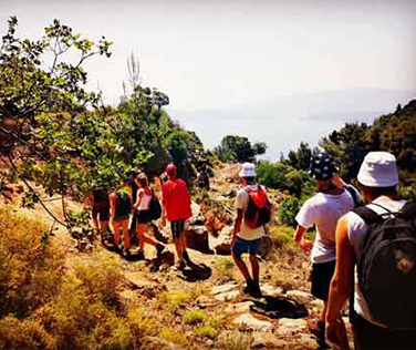 Hiking - Saronic Outdoor Activities - Poros Island