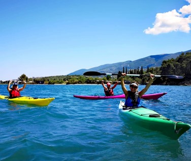 Sea Kayak - Saronic Outdoor Activities - Poros Island